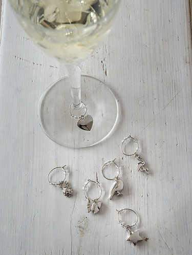Wine Charms on Glass