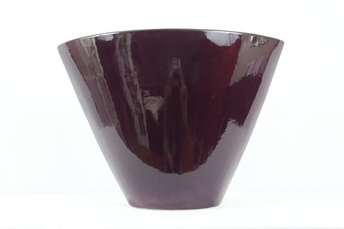 Contemporary Oval Vase