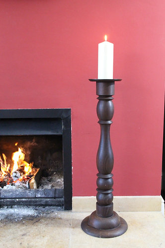 Solid Wood Candle Column