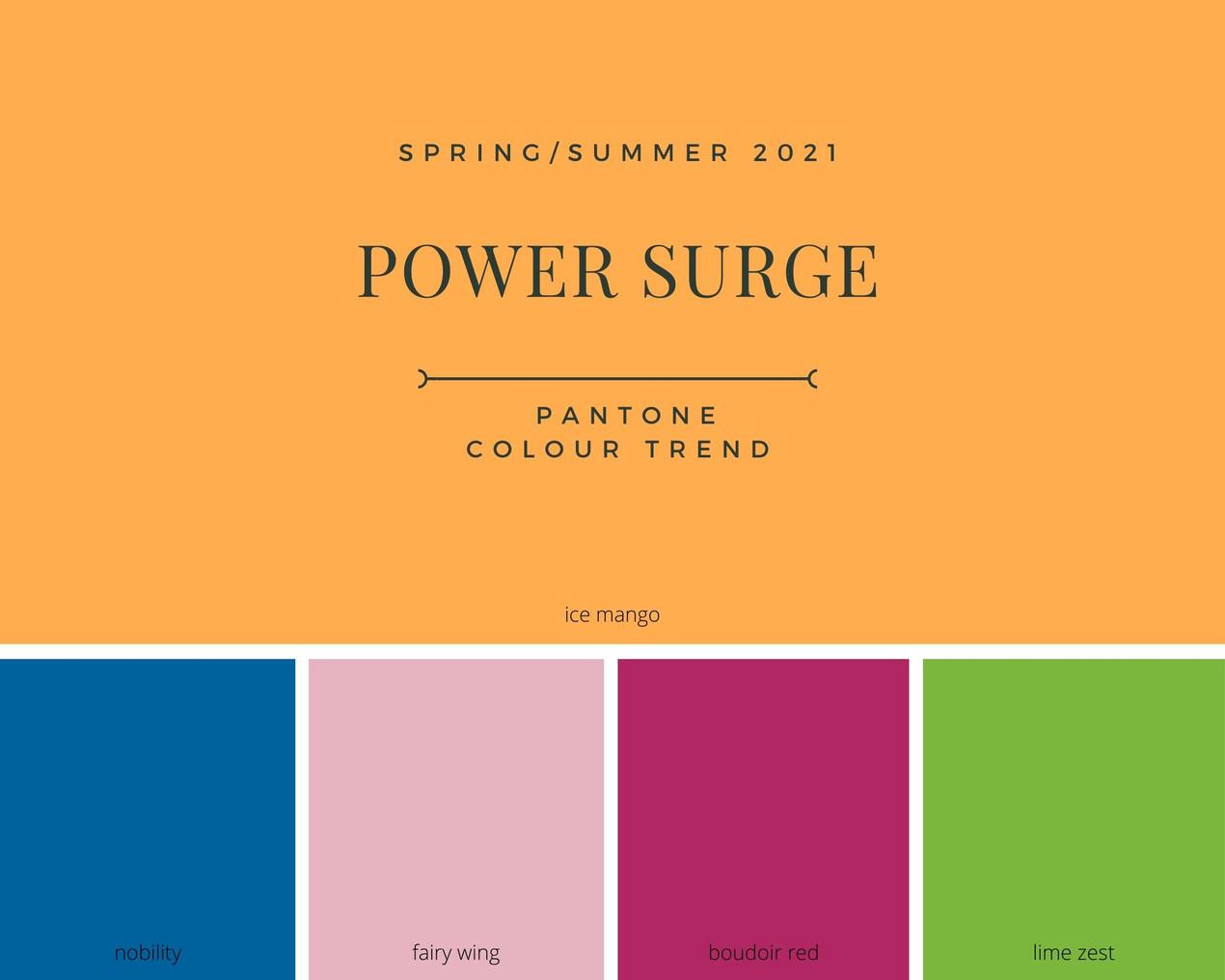 Pantone Colour Palette 2021
