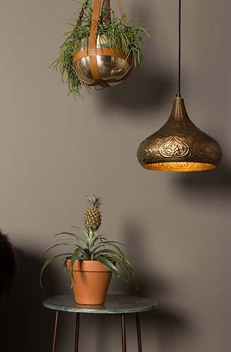 Oni Pendant Light with Cactus
