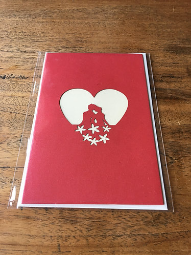 "Pop Up Card ""I Love You"""