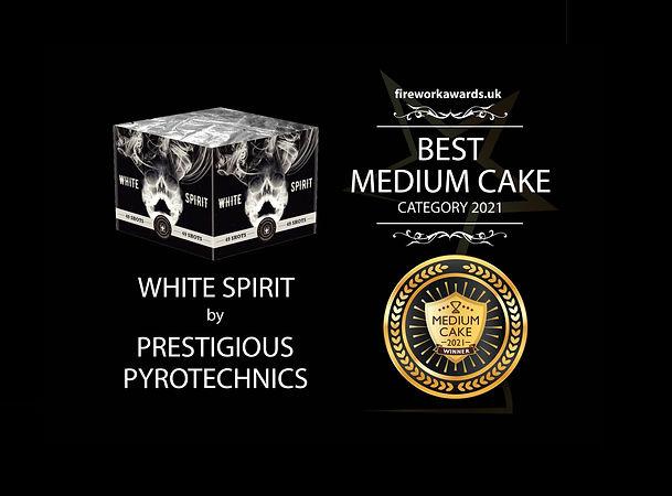 best medium cake | firework awards uk