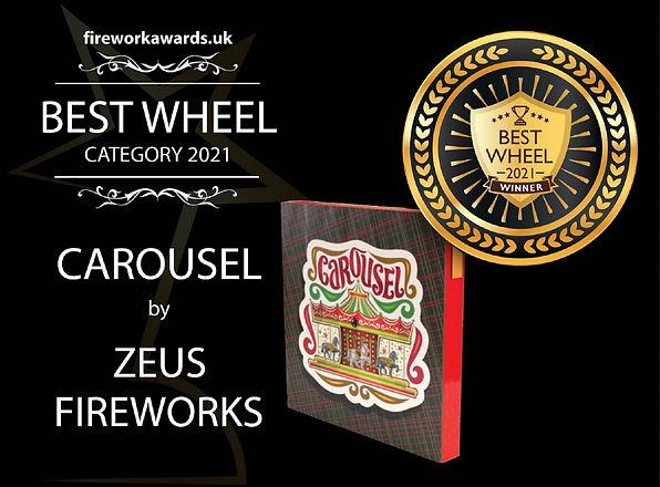 BEST WHEEL   firework awards uk