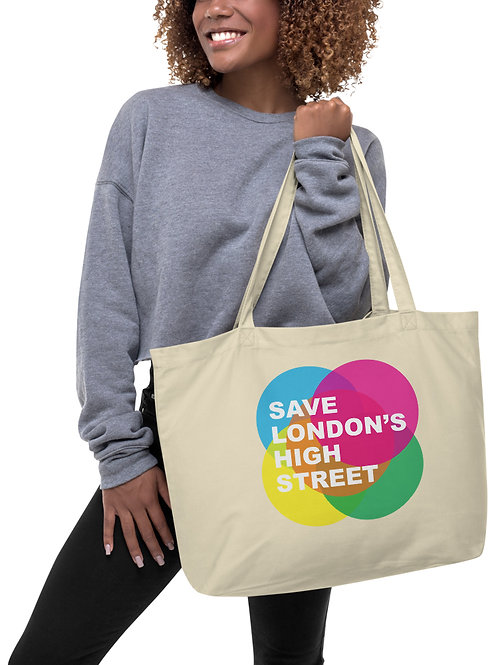 Save London's High Street Eco Tote Bag (100% of the profits go to Charity)