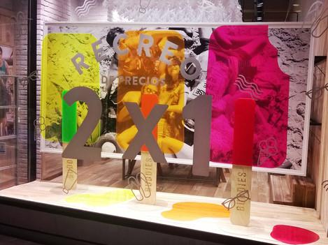 Diseño de Props y Escaparates // Abasto Shopping Mall // Buenos Aires.