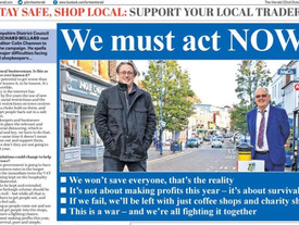 'Save The High Street' Alton Herald and Petersfield Post Publication