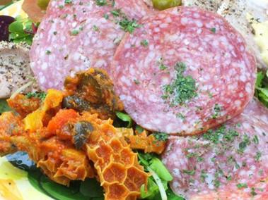 お肉の前菜5種盛り