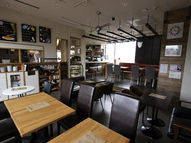 ピースカフェ店内