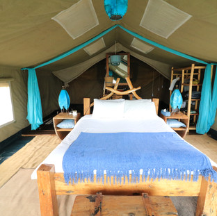 luxury tent at Moru Serengeti