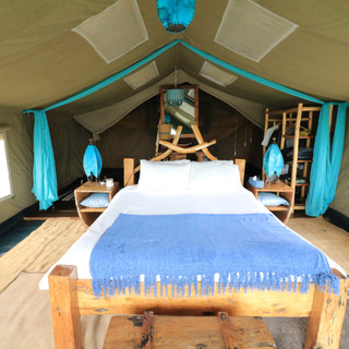een luxe tent tijdens uw verblijf bij Asanja Africa in Serengeti