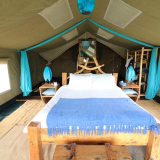 luxury tent at Moru Serengeti
