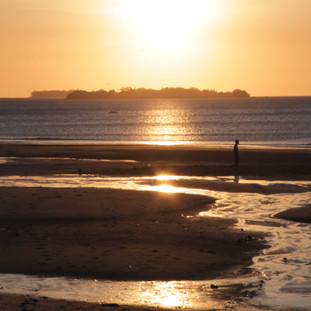 Prachtige zonsopgang vanaf Chumbe eiland