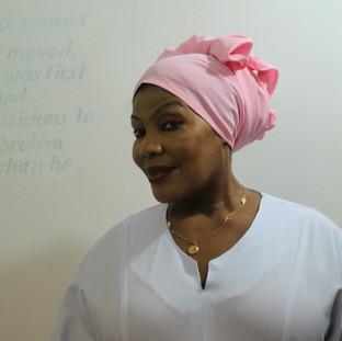 Mrembo Spa vrouw in een van de kamers