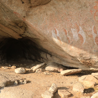 Visit the Moru kopjes where the Maasai made some drawings.