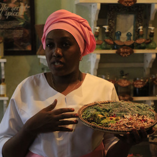 Mrembo Spa lady explains all the local spices