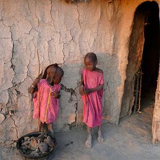 Bezoek Masai dorpje