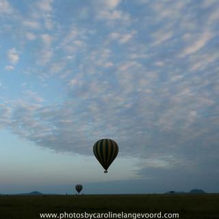 Ballon Excursie in Masai Mara is een onvergetelijke ervaring