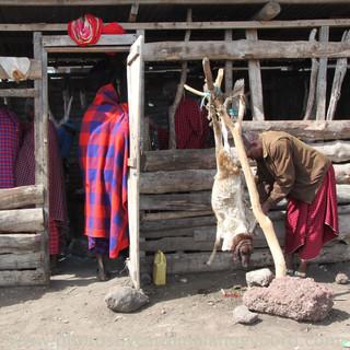 Een echte Maasai winkel