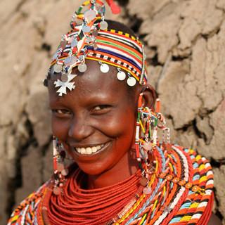 Samburu vrouw