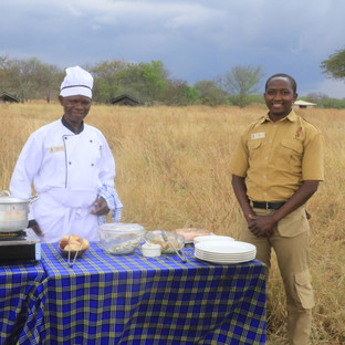 Asanja luxury safari in Serengeti.