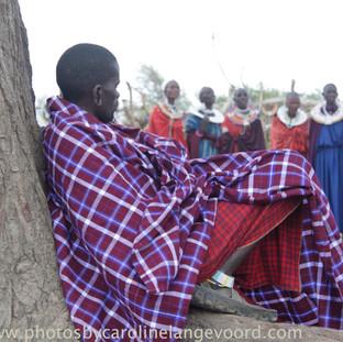 Bezoek aan Masai dorp
