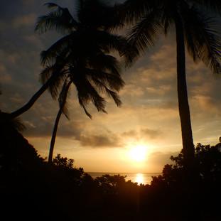In Matemwe zie je de zon opkomen.
