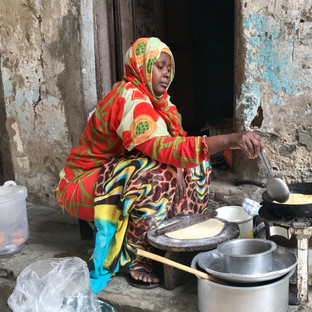 chapati cooking