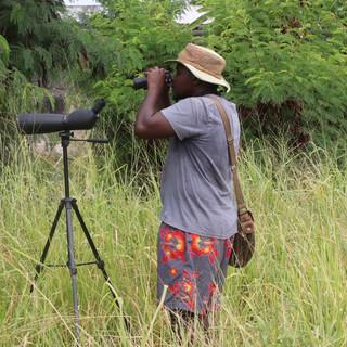 vogelwandeling op zanzibar met een zeer ervaren vogelgids