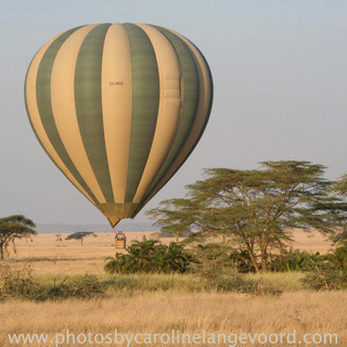 Ballon safari Serengeti