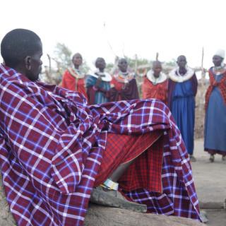 bezoek aan een Maasai dorp