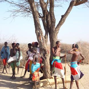 bezoek een Samburu dorpje in het noorden van Kenia