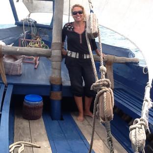Een trip op een prive Dhow boot met lekkere cocktails