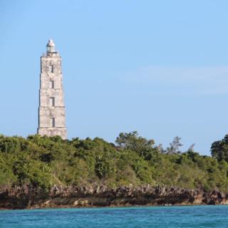 De vuurtoren van Chumbe eiland