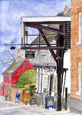 Woodbridge -  Ye Olde Bell and Steelyard