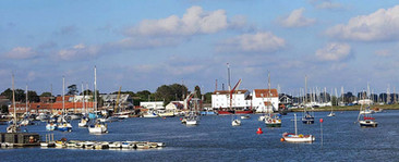 View of the Tide Mill, Granary and Art Club buildings