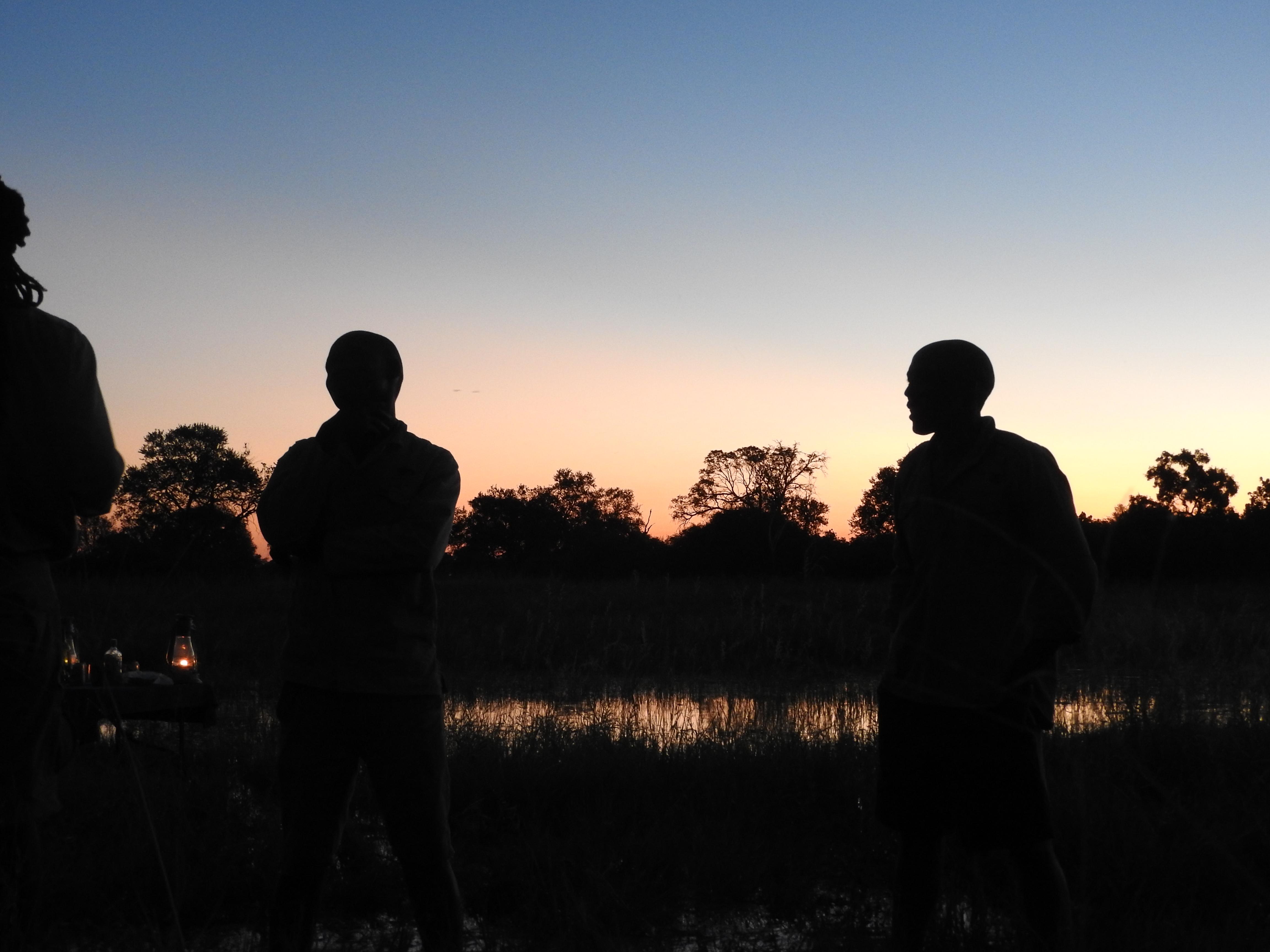 Sunset on the Okavano