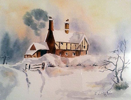 Painting by Glynis Littlejohn