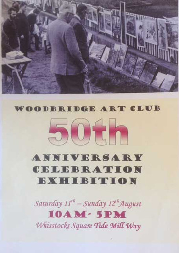 Poster for 50th Celebration Exhibition