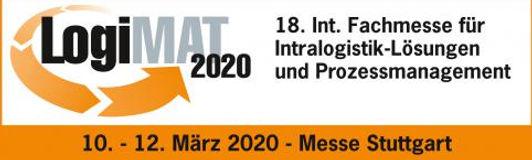 logiMAT Logistik Messe Stuttgart 2020