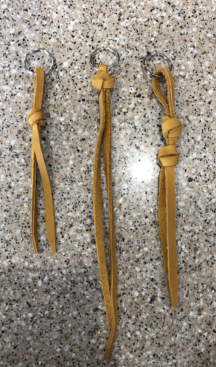 Mustard Keychains