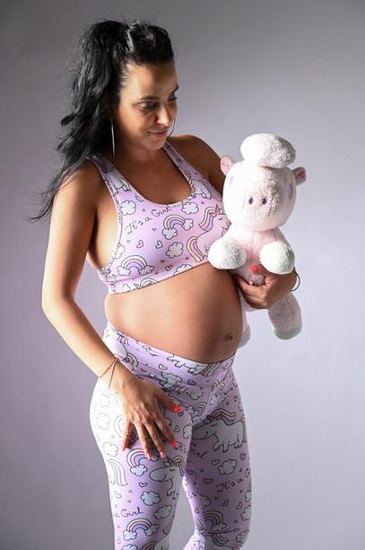 צילומי הריון עם בובה