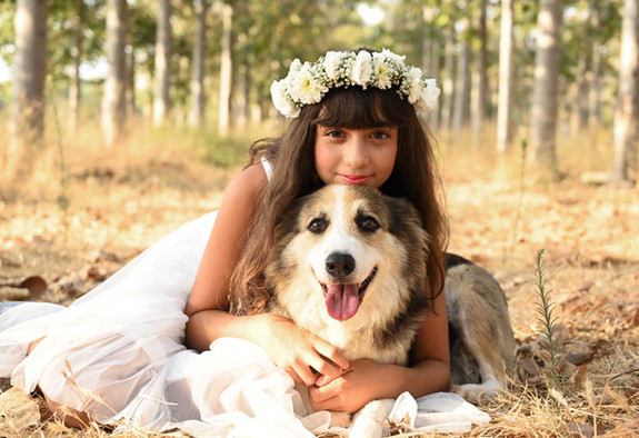 צילומי משפחה עם חיית מחמד