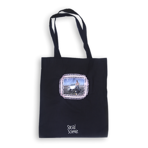 SOCIAL SCIENCE - BLACK TOTE