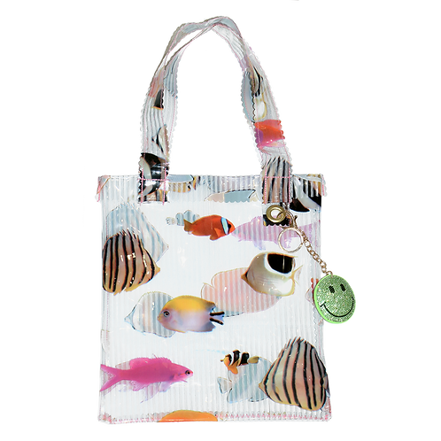 HELLO SISI - FISH PVC TOTE BAG