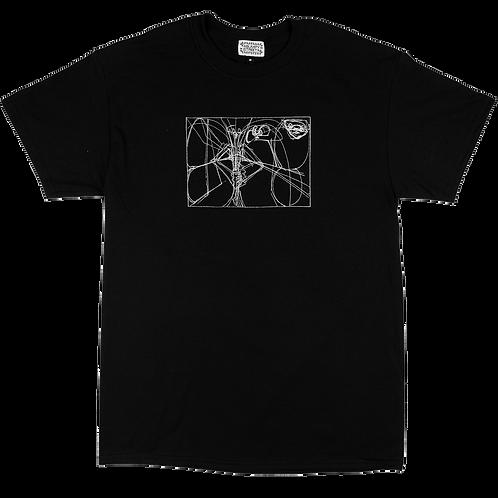 BUMPY STREET - UNTITLED TEE (BLACK)