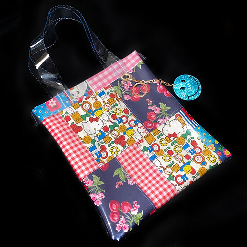 HELLO SISI CUSTOMED - HELLO KITTY PATCHWORK TOTE