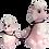 Thumbnail: OLGA GOOSE CANDLE - PINK POODLE