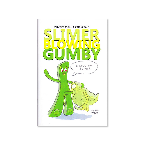 WIZARDSKULL - SLIMER BLOWING GUMBY ZINE