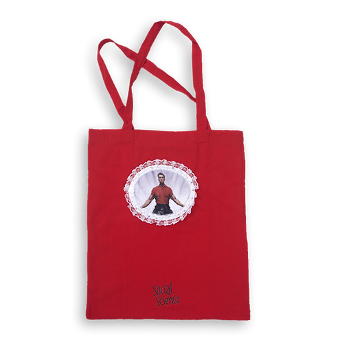 SOCIAL SCIENCE - RED TOTE